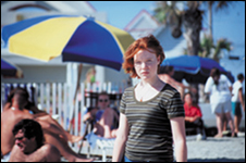 Images from Swimming, starring Lauren Ambrose of HBO's Six Feet Under